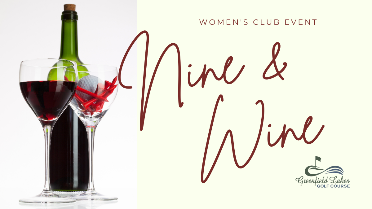 A little golf and a little wine